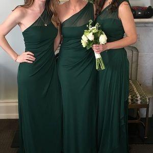 Two David's Bridal Bridesmaids Dresses